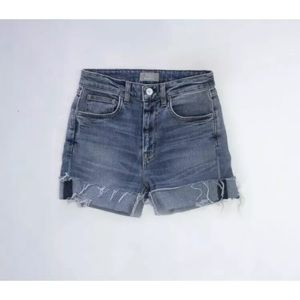 Father's Daughter LA Beth High Rise Jean Shorts